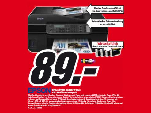 Epson Stylus Office BX305FW Plus ©Media Markt