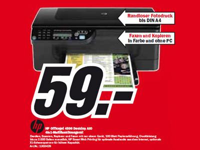HP Officejet 4500 Desktop ©Media Markt