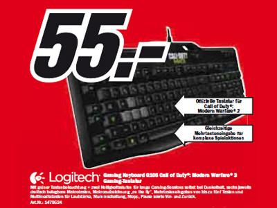 "Logitech G105 ""Call of Duty: Modern Warfare 3""-Edition ©Media Markt"