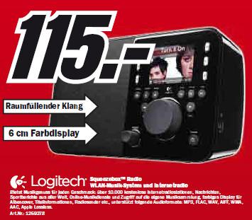 Logitech Squeeze Box Radio ©Media Markt