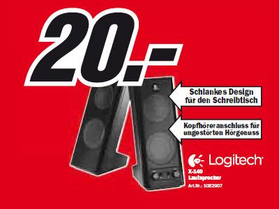 Logitech X-140 ©Media Markt
