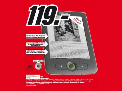 PocketBook 611 ©Media Markt