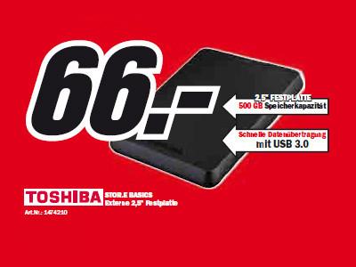 Toshiba Stor.E Basics ©Media Markt