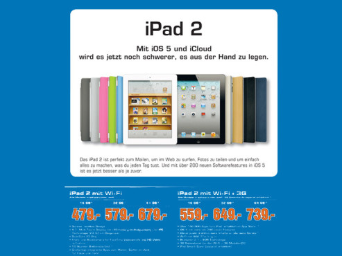 Apple iPad 2 © Saturn