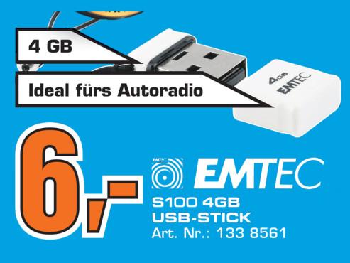 Emtec S100 4GB ©Saturn