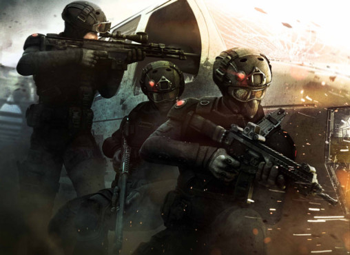 Actionspiel Tom Clancy's Rainbow 6 Patriots: Team © Ubisoft