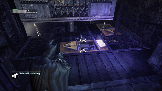 Actionspiel Batman Arkham City: Aufzug © Warner Bros. Interactive