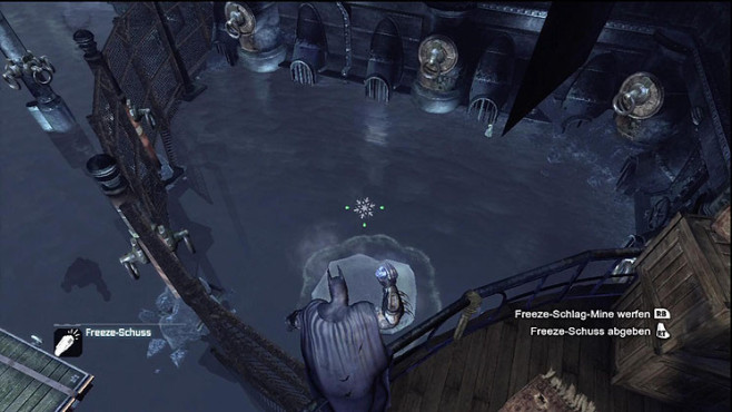 Actionspiel Batman Arkham City: Eisfloß © Warner Bros. Interactive