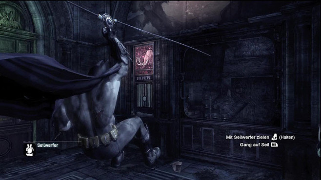 Actionspiel Batman Arkham City: Seilwerfer © Warner Bros. Interactive