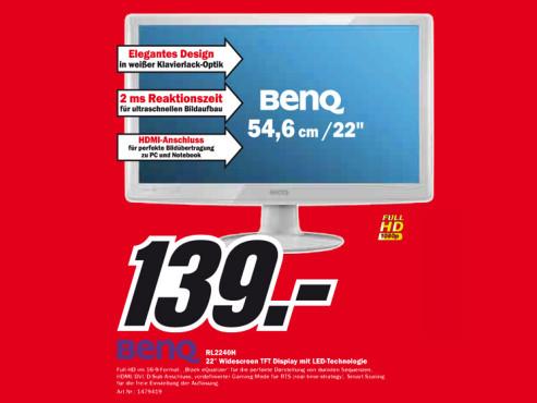 BenQ RL2240H ©Media Markt