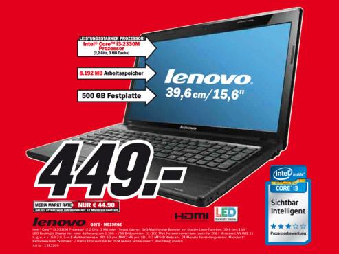 Lenovo G570-M519RGE ©Media Markt