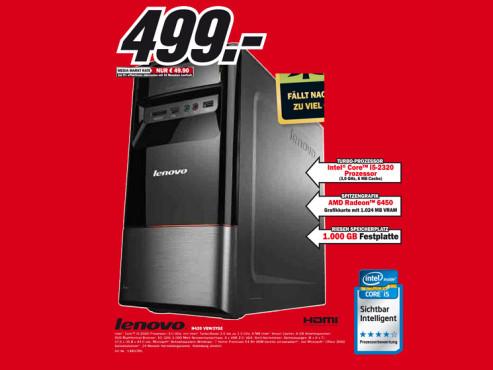 Lenovo H420 (VBW3YGE) ©Media Markt