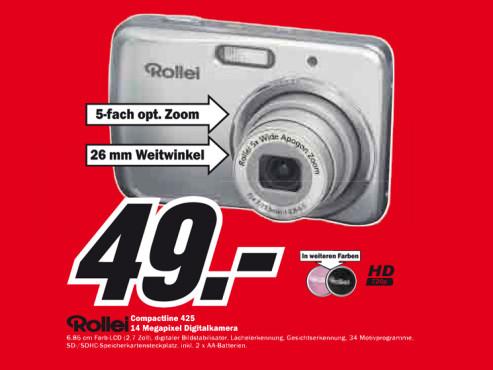 Rollei Compactline 52 ©Media Markt