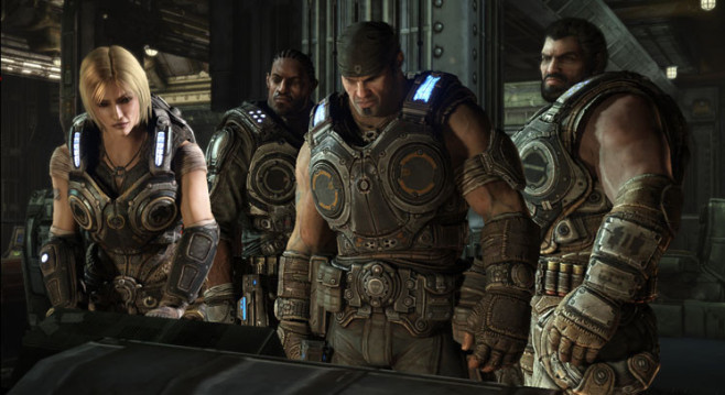Actionspiel Gears of War 3: Team © Microsoft