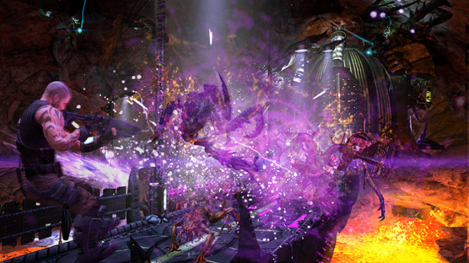 Actionspiel Red Faction – Armageddon: Explosion © THQ