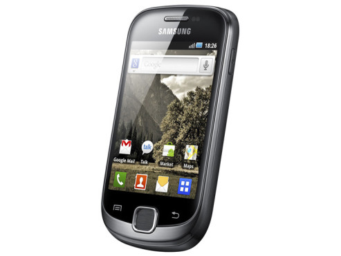 Februar 2011: Galaxy Fit (S5670) © Samsung