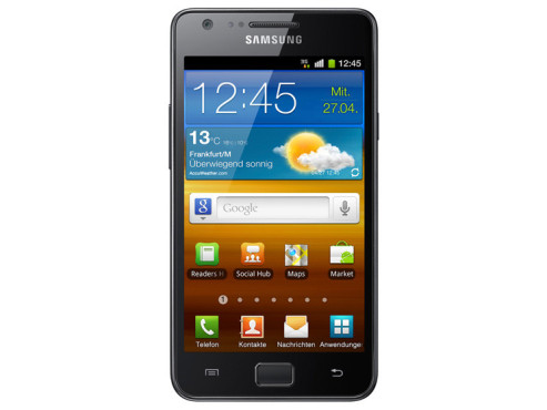 Mai 2011: Galaxy S II (i9100) ©Samsung
