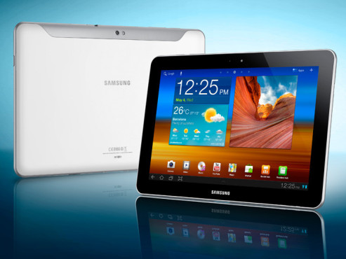 November 2011: Galaxy Tab 10.1N (P7501) © Samsung