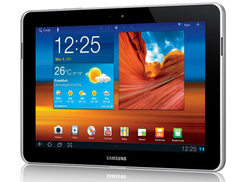 November 2011: Galaxy Tab 10.1N Wifi (P7500) © Samsung