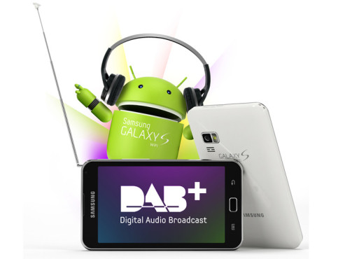 Samsung Galaxy S Wifi 5.0 DAB+ ©Samsung