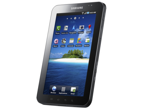 September 2010: Galaxy Tab (P1000) © Samsung