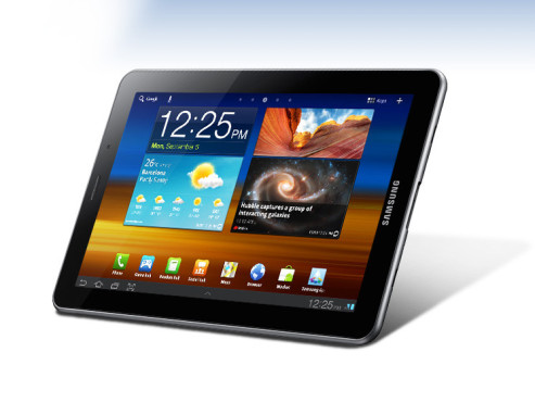 September 2011: Galaxy Tab 7.7 © Samsung