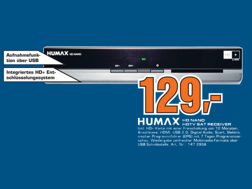 Humax HD Nano © Saturn
