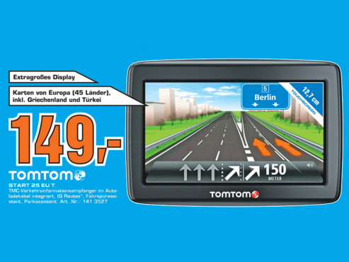 Tomtom Start 25 EU T © Saturn