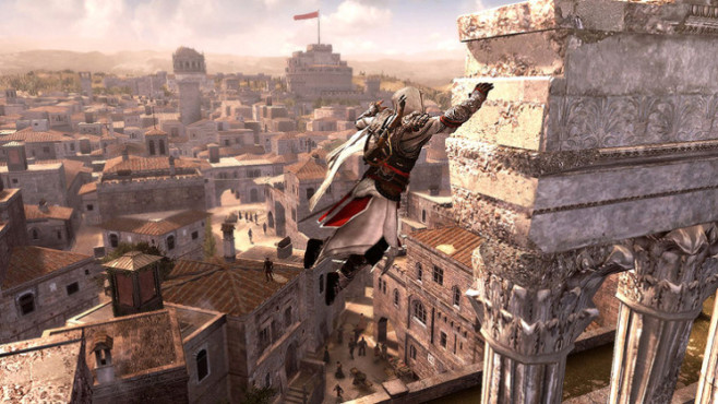 Actionspiel Assassin's Creed – Brotherhood: Sprung © Ubisoft