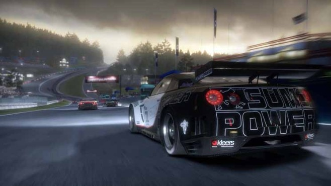 Rennspiel Need for Speed – Shift 2 Unleashed: Nacht ©Electronic Arts