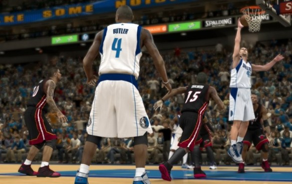 Sportspiel NBA 2K12: Dirk © Take-Two