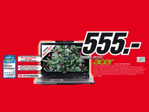 Acer Aspire 7750G-2334G75Mnkk ©Media Markt