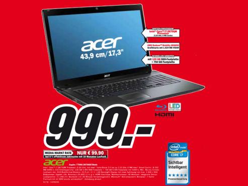 Acer Aspire 7750G-2678G87Bnkk ©Media Markt