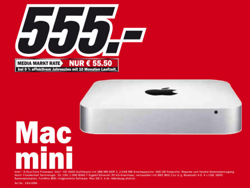 Apple Mac mini © Media Markt