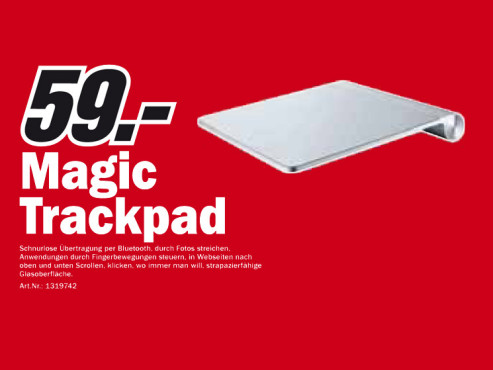 Apple Magic Trackpad © Media Markt