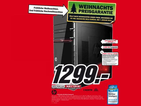 Hewlett-Packard HP Pavilion HPE H9-1001DE Phoenix (H0D15EA) ©Media Markt