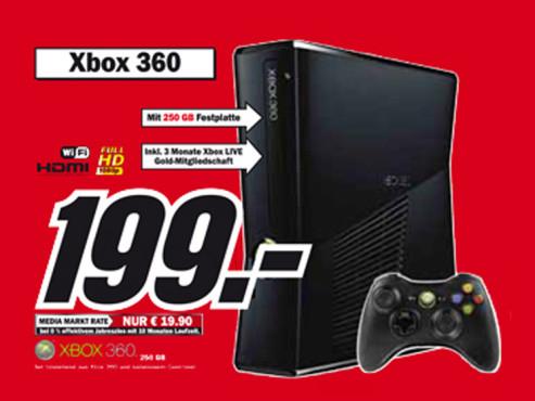 Microsoft Xbox 360 ©Media Markt