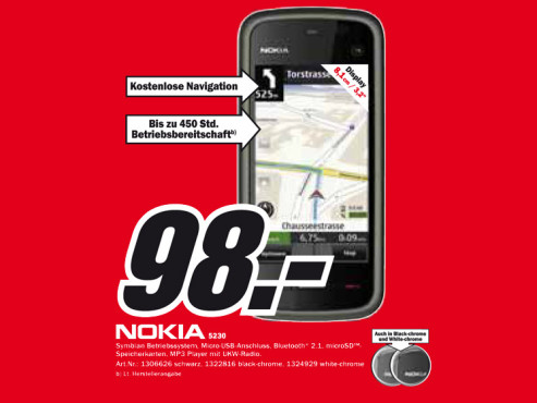 Nokia 5230 Navigation © Media Markt