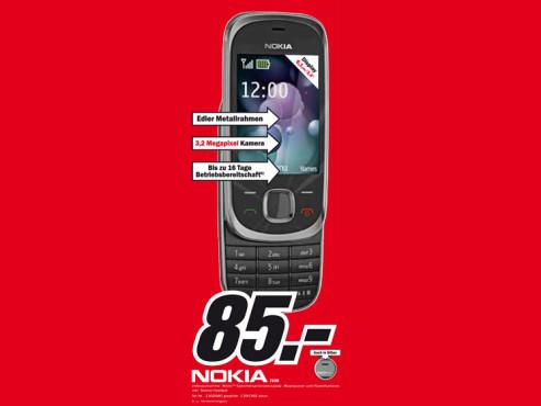Nokia 7230 ©Media Markt