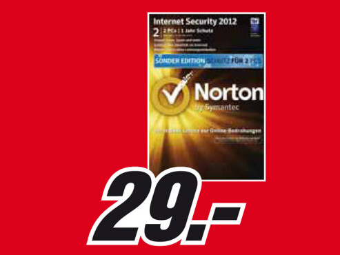 Symantec Norton Internet Security 2012 © Media Markt