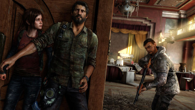 Actionspiel The Last Of Us: Deckung © Sony