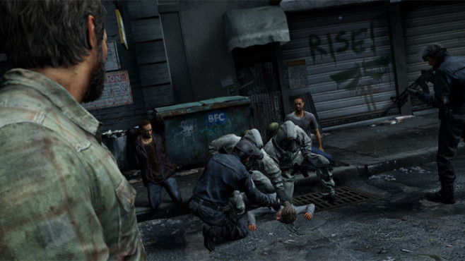 Actionspiel The Last Of Us: Festnahme ©Sony