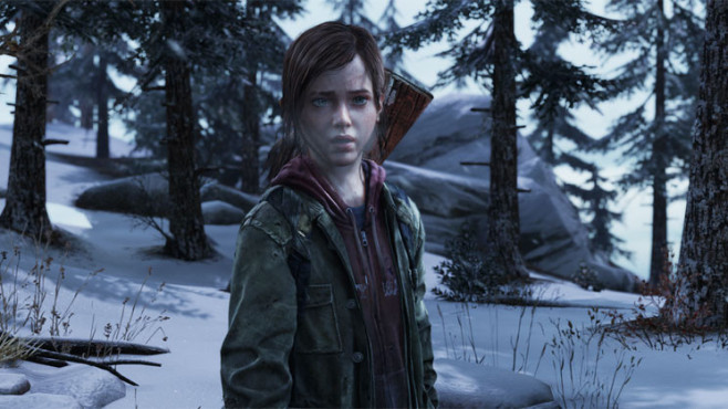 Actionspiel The Last Of Us: Schnee © Sony