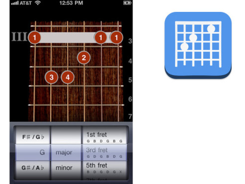 ChordBank: Guitar Chords © Christopher Ladd