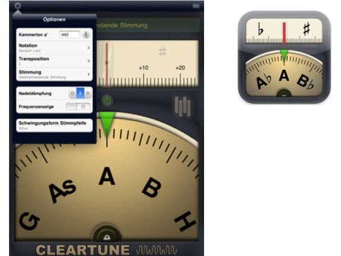 Cleartune – Chromatic Tuner © Matthew Finn
