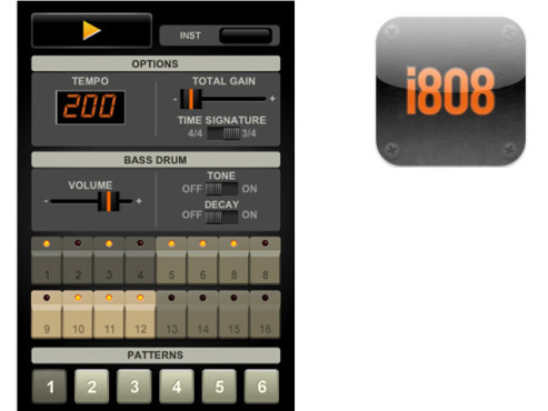 i808 Drum Machine © Blackout Labs