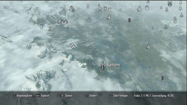 Komplettl�sung The Elder Scrolls 5 � Skyrim: Schreie und W�rter der Macht ©Bethesda Softworks