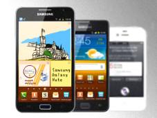 Praxis-Check: Vor- und Nachteile der XXL-Smartphones ©Samsung, Apple