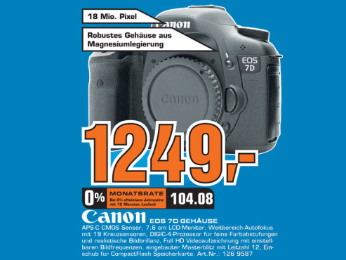 Canon EOS 7D Body ©Saturn