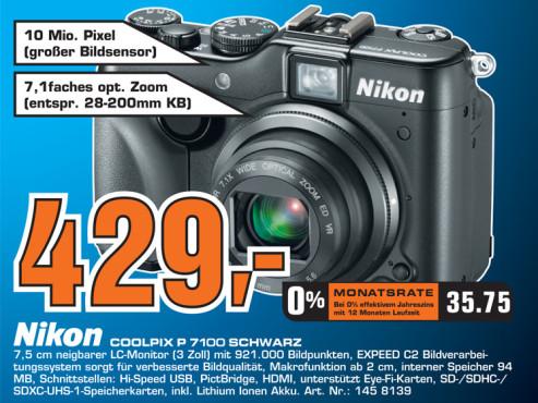 Nikon Coolpix P7100 ©Saturn